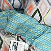 Постельное белье сатин Viluta (392) Двуспальный 220х200 см, фото 5