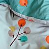 Постельное белье сатин Viluta (427) Двуспальный 220х200 см, фото 4