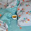 Постельное белье сатин Viluta (427) Двуспальный 220х200 см, фото 5