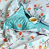 Постельное белье сатин Viluta (427) Двуспальный 220х200 см, фото 6