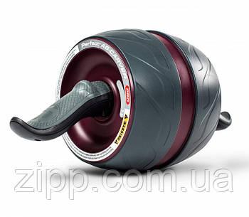 Тренажер колесо для преса, ролик для преса з поворотним механізмом | колесо для м'язів преса