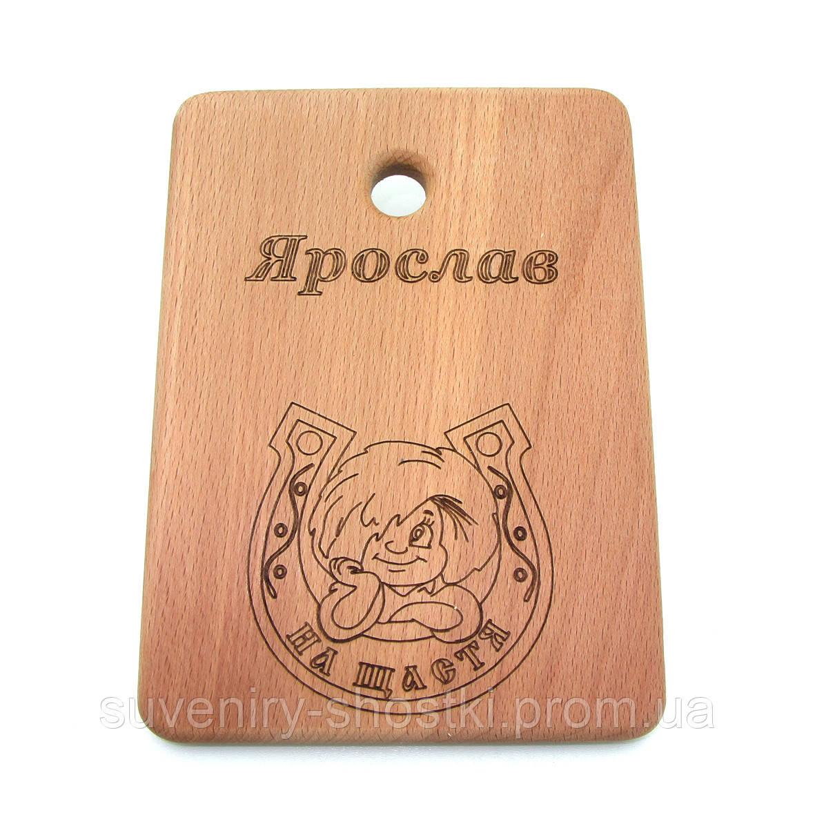 "Кухонная доска  "" Ярослав "" 310*175*15мм"