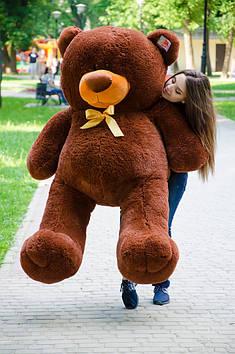 Плюшевий Ведмедик Пух 180 см Шоколадний