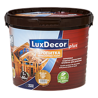 Акриловая пропитка для дерева LuxDecor 5 л (каштан)