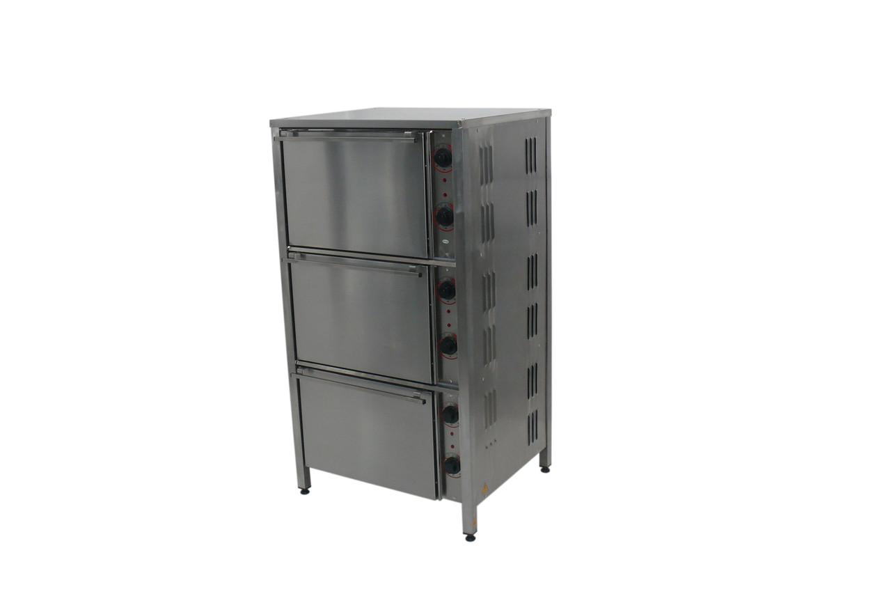 Жарочный шкаф  ШЖЕ-3 трехкамерный профессиональный