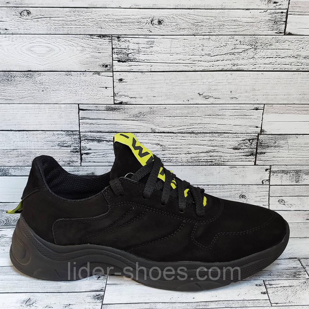 Осенние весенние мужские кроссовки нубук
