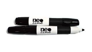 Маркер для белых досок,черный Neo Line
