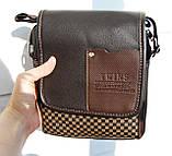 Уценка. Изъян. Скидка. Небольшая мужская сумка  УЦКС27, фото 9