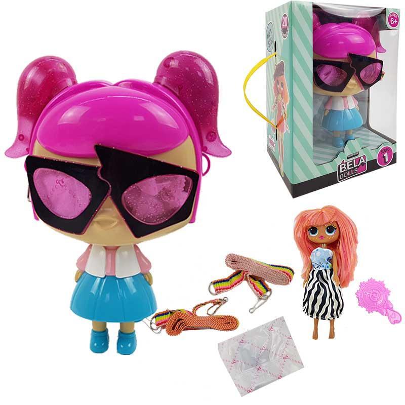 """Игровой набор кукла """"L"""" Bela Dolls BL1156 кукла 17.5 см, аксес, в кор."""