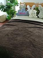 Плед микрофибра бамбук косичка 200х230, фото 1