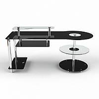 """Компьютерный стеклянный стол """"Комфорт"""", фото 1"""
