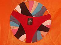 Женские трусики бикини бесшовные Р.р 48-50 один цвет в упаковке