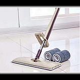 Швабра-лентяйка двусторонняя с отжимом Spin Mop 360°, фото 2