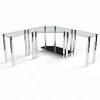 """Компьютерный стеклянный стол """"Кредо"""", фото 1"""