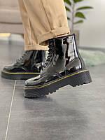 Женские ботинки Dr.Martens Jadon Black \ Др.Мартенс Черные \ Жіночі черевики Др.Мартенс Чорні