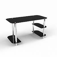 """Письменный стеклянный стол """"Кросслайн"""", фото 1"""