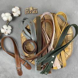 Кожаные ручки для сумок