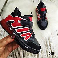 Детские осенние высокие кроссовки-ботинки на флисе W-NIKO 31р