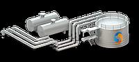 Технологические трубопроводы нефтебаз, монтаж