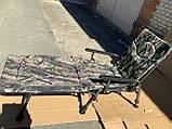 Кресло карповое складное Elektrostatyk F5R с подставкой для ног. Есть самовывоз в Киеве., фото 4