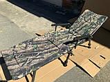 Кресло карповое складное Elektrostatyk F5R с подставкой для ног. Есть самовывоз в Киеве., фото 8