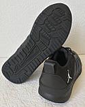 Jordan 23 чёрные мужские кроссовки осень весна кожа обувь кросовки спорт стиль, фото 5
