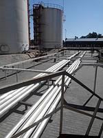 Сооружение технологических трубопроводов нефтебаз