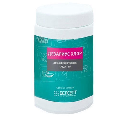 Засіб дезінфекційний ДЕЗАРИУС ХЛОР хлорні таблетки, 1кг №370 (Білорусь)