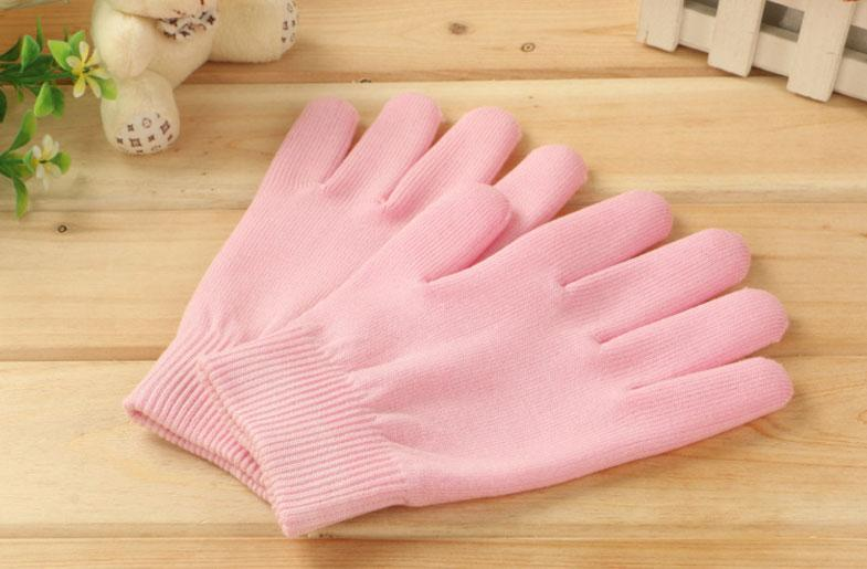 Гелиевые увлажняющие перчатки   Косметические увлажняющие перчатки Spa Gel Gloves для смягчения кожи рук