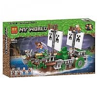 """Конструктор Bela """"Minecraft"""" (11139) Битва на реке, 630 деталей"""