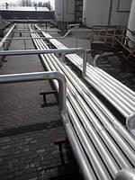 Монтаж надземных трубопроводов