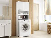 Шкаф для стиральной машины в ванной 183х64х30 см, фото 1