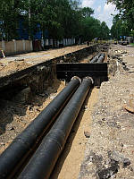 Монтаж подземных трубопроводов