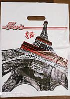 """Пакети поліетиленові типу банан """"Париж"""" 30х40 50 шт"""