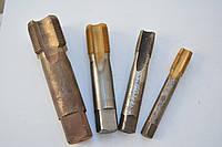 Метчик машинно-ручной М22х1 комплект из 2-х штук Р6М5 левый Львов, фото 1