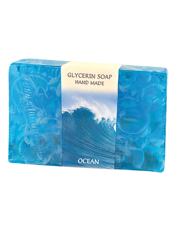 Гліцеринове мило ручної роботи - Океан, BioRose, 75 гр