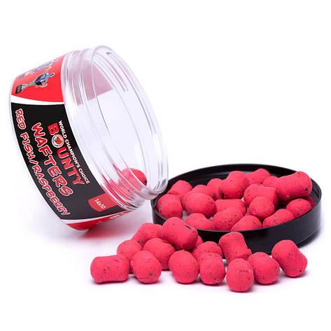 Вафтерс Bounty Wafters Red Fish/Raspberry (Красная рыба/Малина) 10/14мм, фото 2