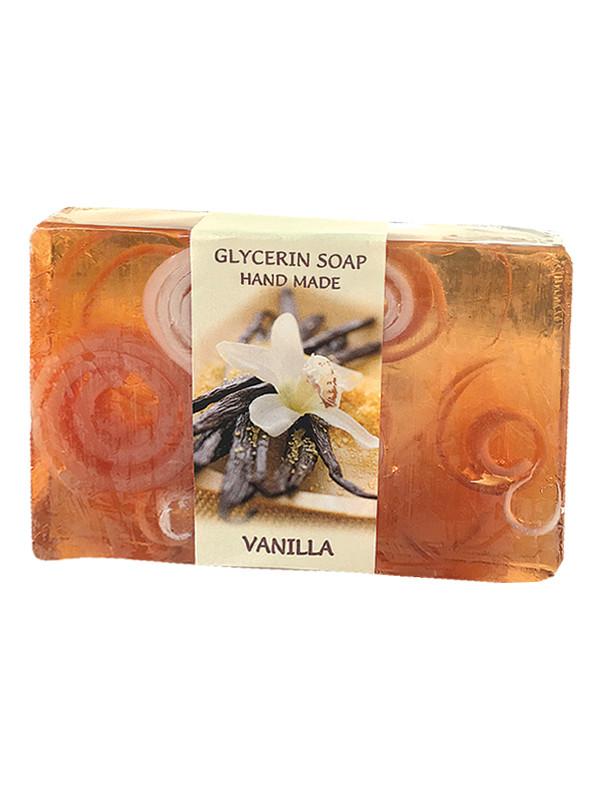 Глицериновое мыло ручной работы - Ваниль, BioRose, 75 гр