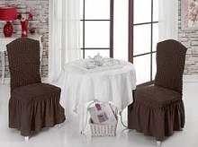 Чехол на стул с юбкой Home Collection Evibu Турция 50111