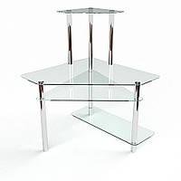 """Компьютерный стеклянный стол """"Фемида"""", фото 1"""