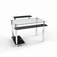 """Компьютерный стеклянный стол """"Фобос"""", фото 1"""