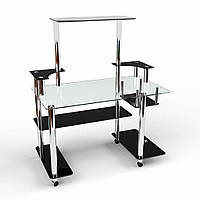 """Письменный стеклянный стол """"Фокус"""", фото 1"""