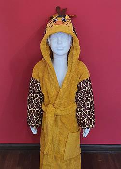 Халат Детский Minteks 3-4 г жирафка mod 2