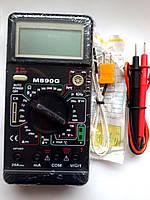 Мультиметр тестер  M 890 G температура емкость и частота