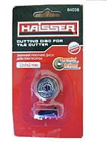 Змінний ріжучий диск на підшипниках для плиткоріза Haisser 22*5*2 мм