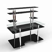 """Компьютерный стеклянный стол """"Юниор"""", фото 1"""
