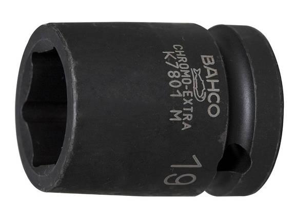 """Набор ударных головок 1/2"""" 10-27 мм, 14 шт., для пневматического инструмента, BAHCO D/S14, фото 2"""
