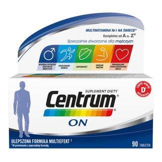 Phizer Centrum ON 90 Витамины для мужчин, 90 табл
