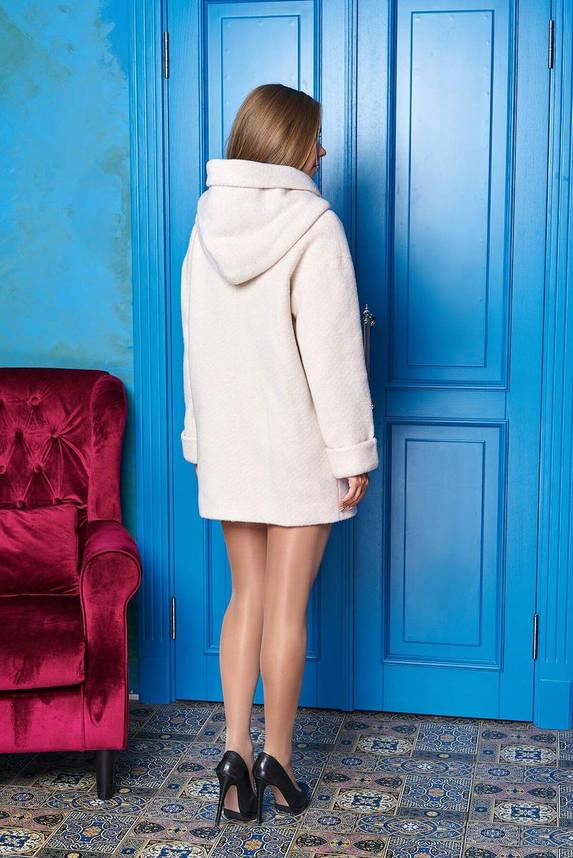 Короткое женское пальто с капюшоном, S(44), фото 2
