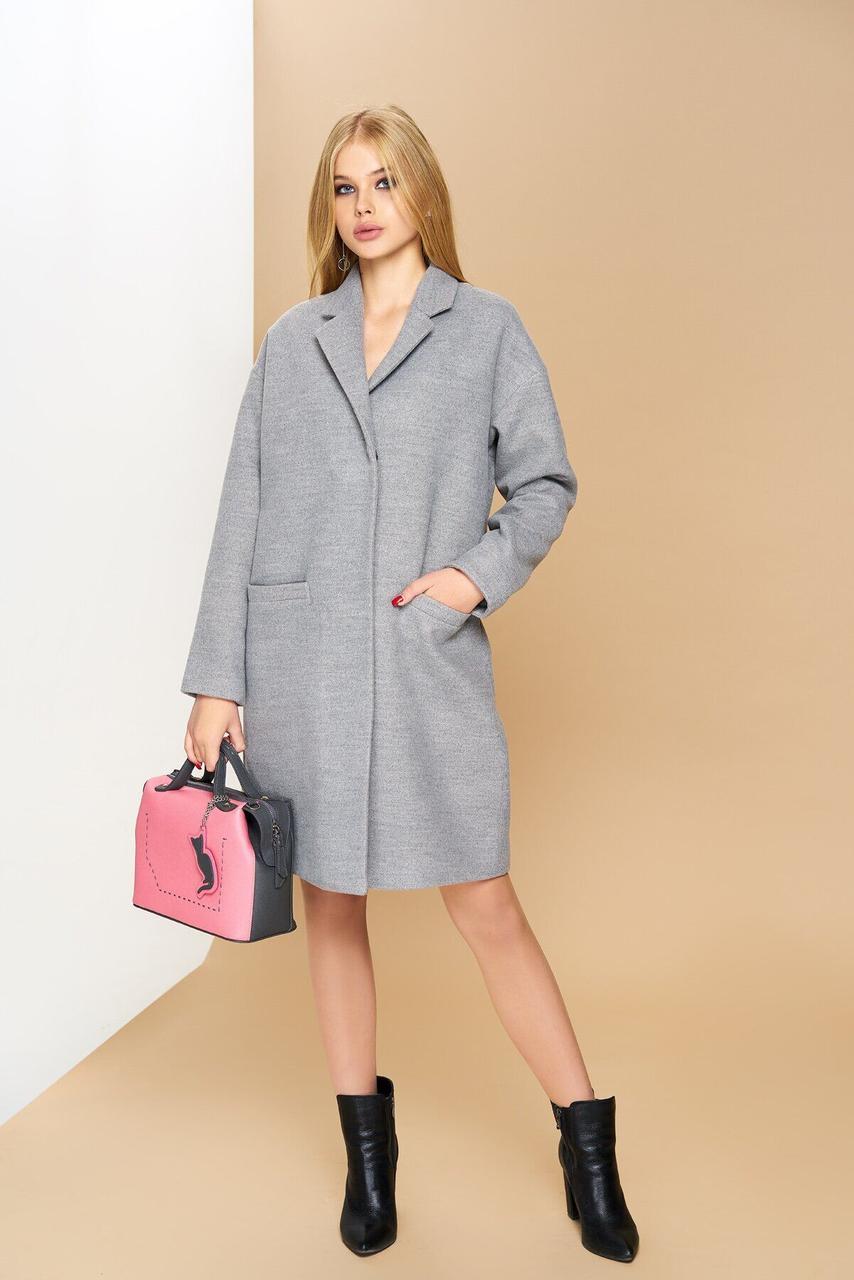 Женское кашемировое пальто-оверсайз, XS(42)